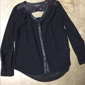 Rock & Republic black blouse.  Medium.